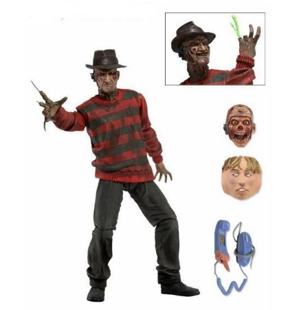 Action Figure hora do Pesadelo Freddy Krueger