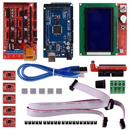 Kit Impressora 3D com a Eletrônica Necessária para RepRap
