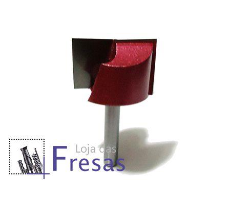 Fresa niveladora - haste de 6mm - Metal duro