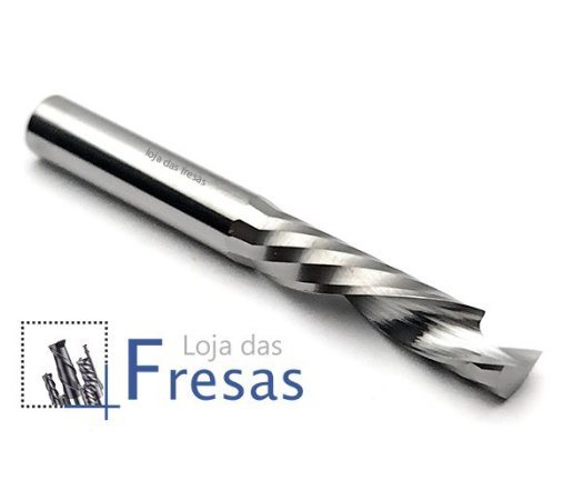 Fresa up&down 1 corte helicoidal 5,0mm - Metal duro