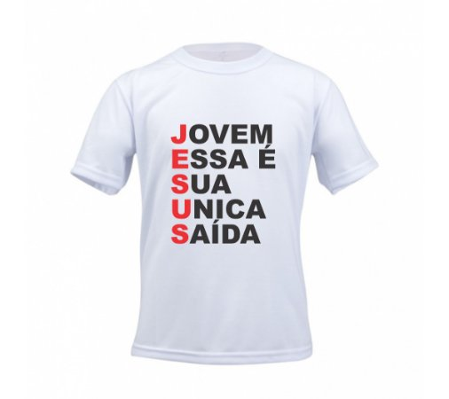 fa9f80767 Camiseta personalizada Jesus - Sublimebrasil - sandalias havaianas ...