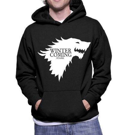 Moletom Masculino - Game Of Thrones Winter Is Coming