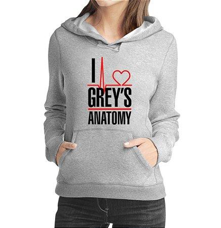Moletom Feminino Série Grey's Anatomy