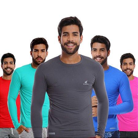 Kit com 5 Camisas UV Proteção Solar Fator 50 em Promoção