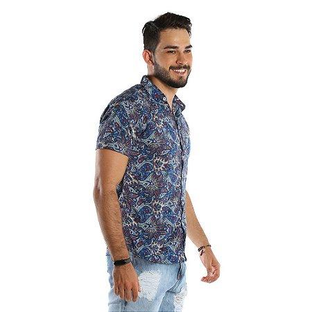1a6006d1cc Camisa de Botão Masculina Estampada com Ótimo Preço - COMPRE ROUPA ...