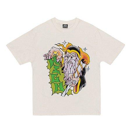 Camiseta High Company Tee_ Mage White