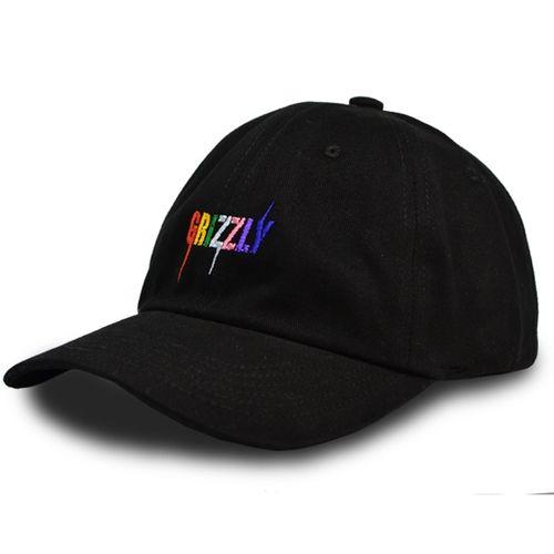 Boné Grizzly Incite Dad Hat Preto