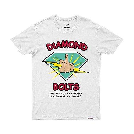 Camiseta Diamond Bolts White