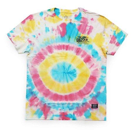 Camiseta Grizzly Outdoor Equip Tie Dye