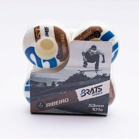 Jogo de Roda Bratz Silas Ribeiro 53mm 101A