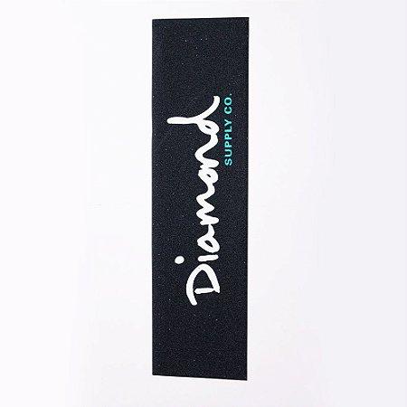 Lixa Importada Diamond Logo Branca Emborrachada