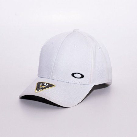 Boné Aba Curva Oakley mini logo Branco