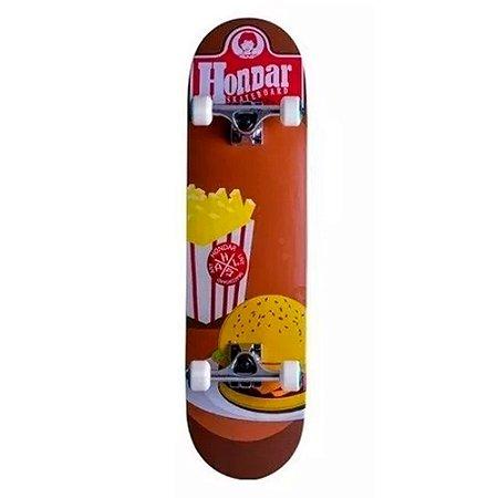 Skate Montado Hondar Iniciante Fast Food 8.0