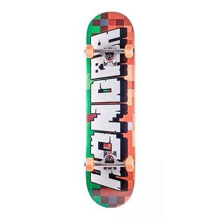 Skate Montado Hondar Infantil Minecraft 7.8