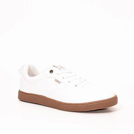 Tênis Qix Zeen Branco/marrom