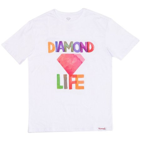 Camiseta Diamond Life Colors