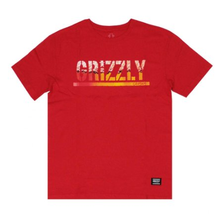 CAMISETA GRIZZLY BREW RED