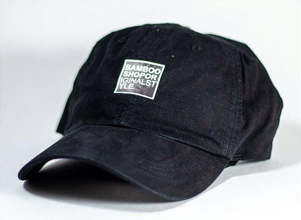 Boné Bamboo Dad Hat Style - Black
