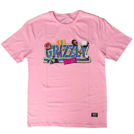 CAMISETA GRIZZLY POOL PARTY  PINK
