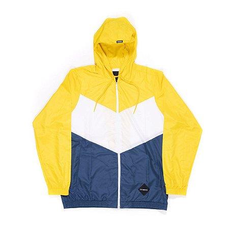 Corta Vento Hocks Vitoria Amarelo/Azul