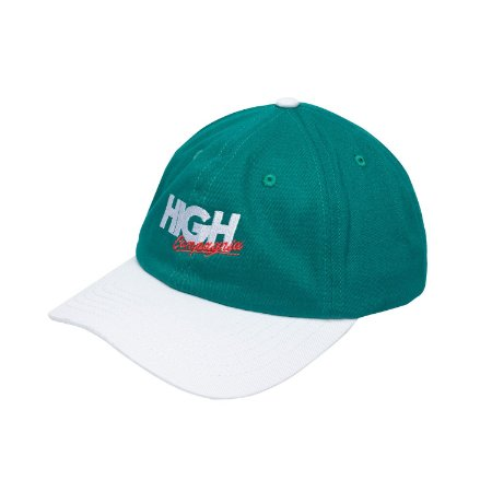 BONÉ HIGH COMPANY POLO HAT COMPAGNIA GREEN/WHITE