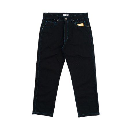 CALÇA HIGH Colored Chino Pants Black