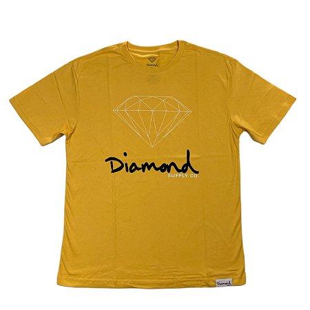 Camiseta Diamond Og Sign Gold