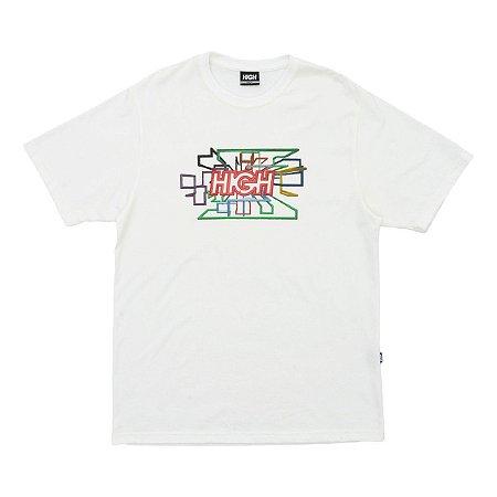 Camiseta High Screensaver White