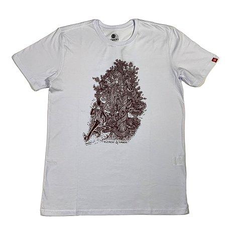 camiseta element cut your losses timber Branca