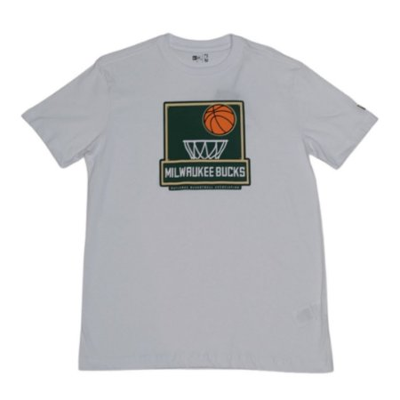CAMISETA NEW ERA DUAL SPORT MILBUCKS NBA