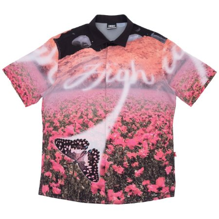 Camisa High Button_Up_Shirt_Dreams