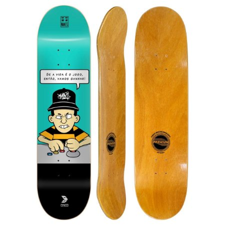 Shape Cisco Skate Fiber Decks Makes no Jogo 8.125""
