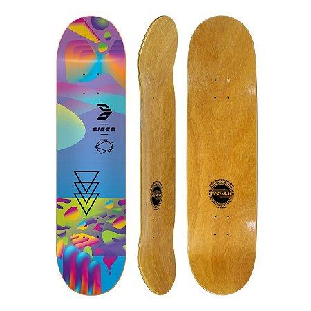 """Shape Cisco Skate Fiber Decks Neon Blue 8,25"""""""