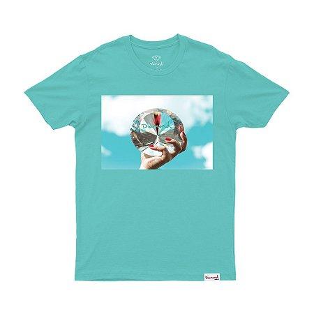 Camiseta Diamond will Sky Blue