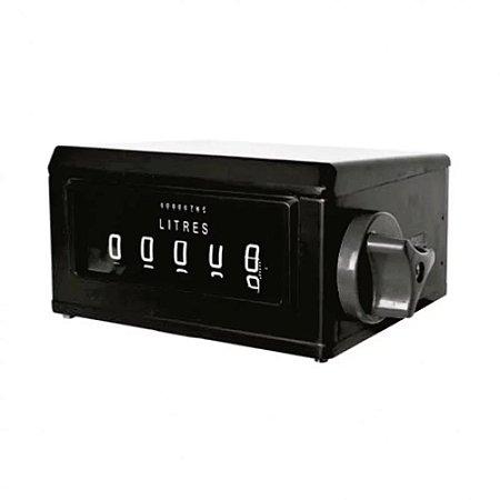 NUMERADOR MECÂNICO REGISTRADOR COM 5 DIGITOS - HR2500-N