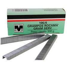 Grampos para Grampeador ROCAMA 106/6