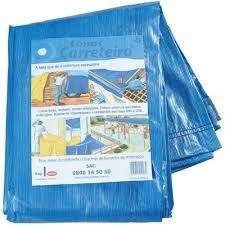 Lona Azul Carreteiro 4m x 3m