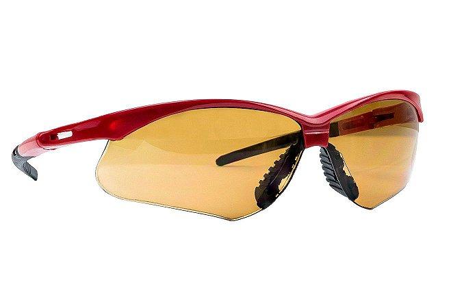 Óculos de Proteção SS7 IN-OUT vermelho CA 27.512 SuperSafety