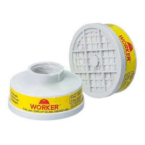 Filtro Químico para Máscara Respiratória VO GA Worker