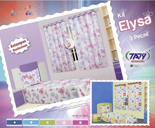 Kit Infantil Elysa - 3 Peças