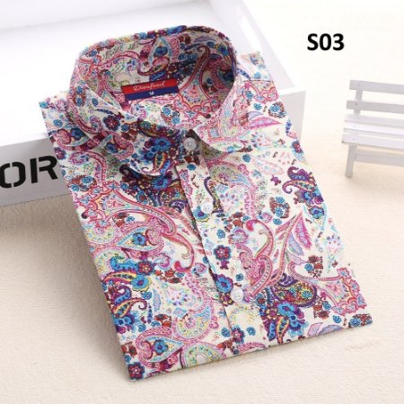 Camisa Floral Casual Colors Varias Estampas