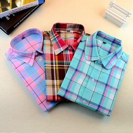 Camisa Listrada Casual