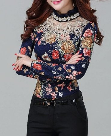 Camisa Lace Gold