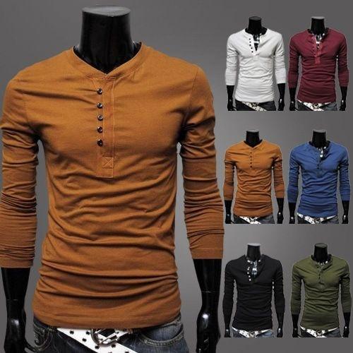 Camisa Manga Longa 6 Cores