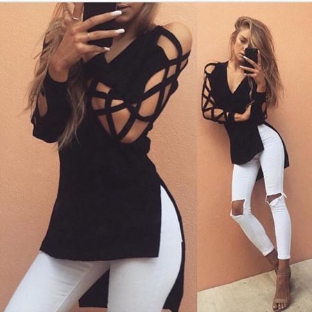 Blusa Mangas Cool Cut