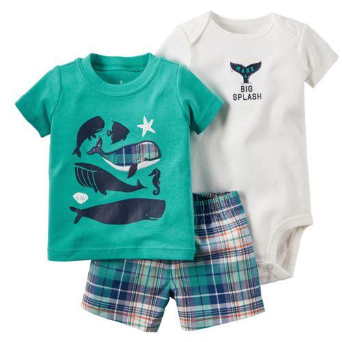 Conjunto Body Camisa e Bermuda Big Splash