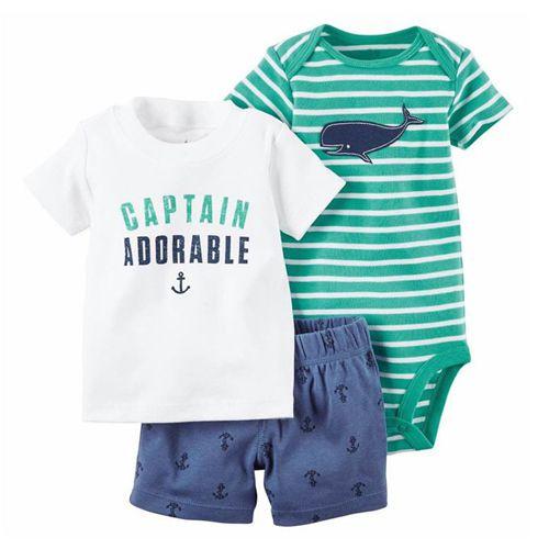 Conjunto Body Camisa e Bermuda Capitain