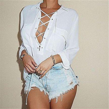 Camisa Sexy White
