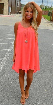 Vestido Cores Vibrantes