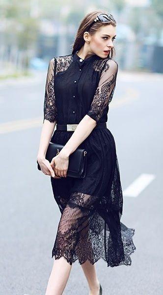 Vestido Rendado Grace